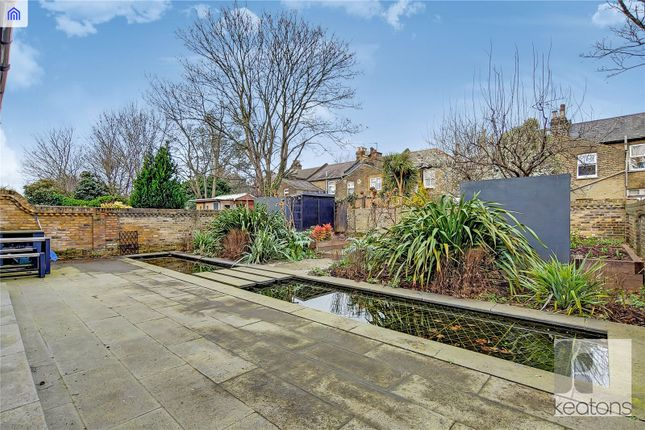 Garden of Claremont Road, London E7