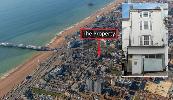 Thumbnail Retail premises for sale in 23 St James's Street, Brighton, East Sussex