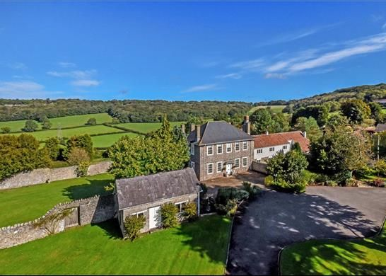 Thumbnail Detached house for sale in Tickenham Hill, Clevedon, Somerset