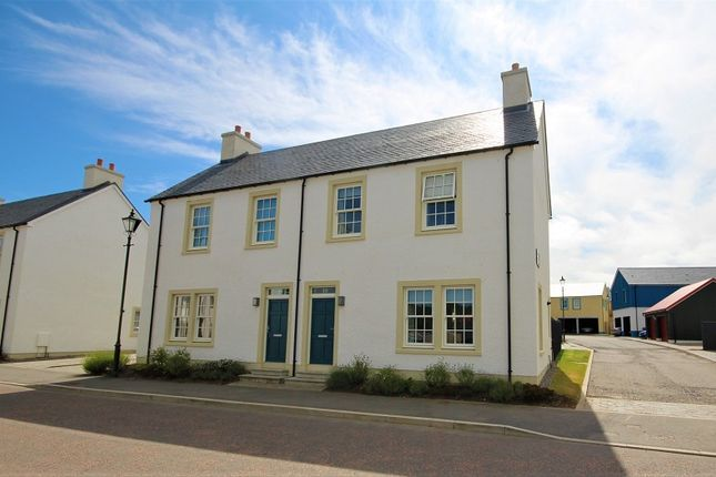 Thumbnail Semi-detached house for sale in 19 Hillhead Road, Tornagrain, Inverness.