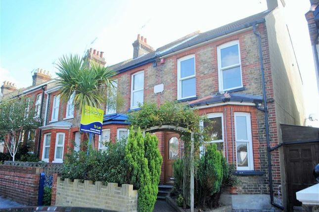 Thumbnail Semi-detached house to rent in Dumpton Park Road, Ramsgate