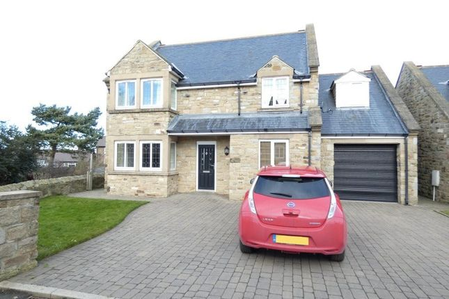 Thumbnail Detached house to rent in Castle Mound, Widdrington, Morpeth