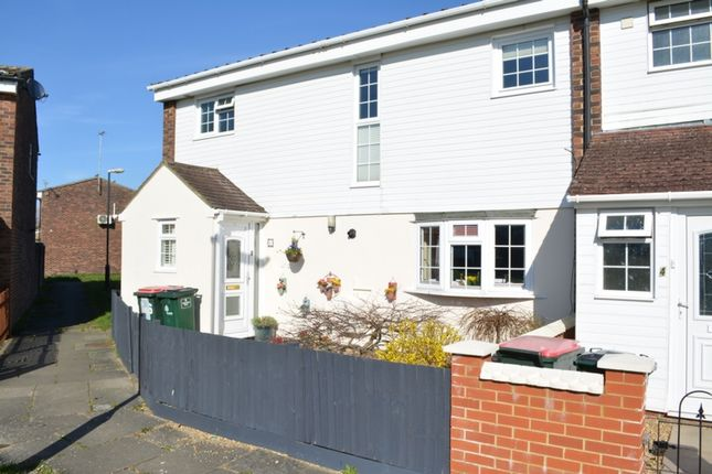 Thumbnail End terrace house for sale in Padstow Walk, Bewbush