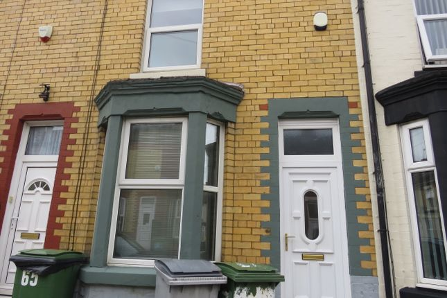 Thumbnail Terraced house to rent in Moorland Road, Tranmere, Birkenhead