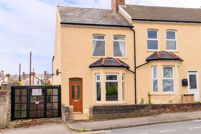Thumbnail End terrace house for sale in Lower Pyke Street, Barry