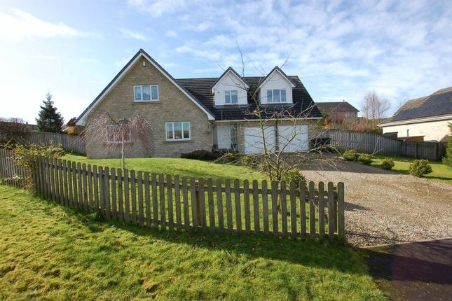 Thumbnail Detached house for sale in Leslies Drive, Otterburn, Newcastle Upon Tyne