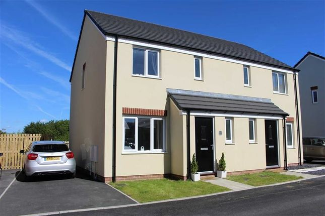 Thumbnail Semi-detached house for sale in Turnberry Close, Hubberston, Milford Haven