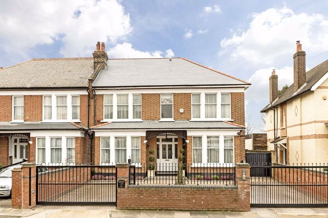 Thumbnail Semi-detached house for sale in St. Marys Crescent, Osterley, Isleworth
