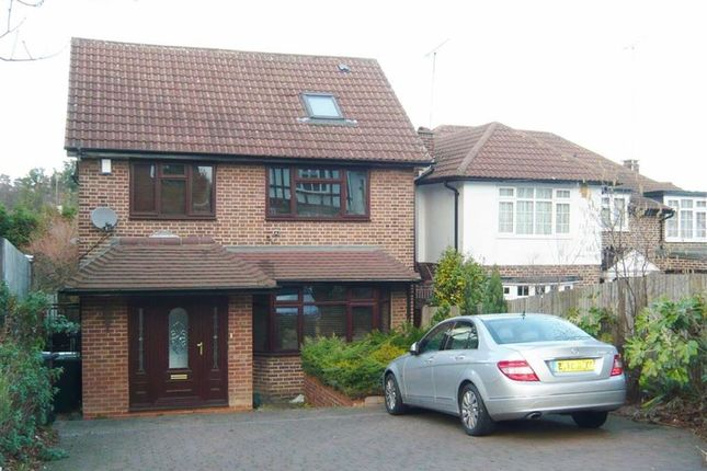Thumbnail Detached house for sale in Houndsden Road, Winchmore Hill, London