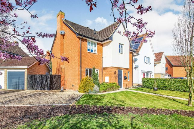Thumbnail Detached house for sale in Strympole Way, Highfields Caldecote, Cambridge