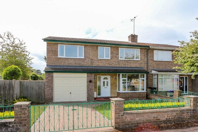 Thumbnail Semi-detached house to rent in Trenchard Close, Wallingford