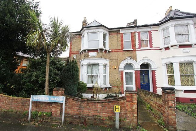 Thumbnail End terrace house for sale in Hawstead Road, London, London