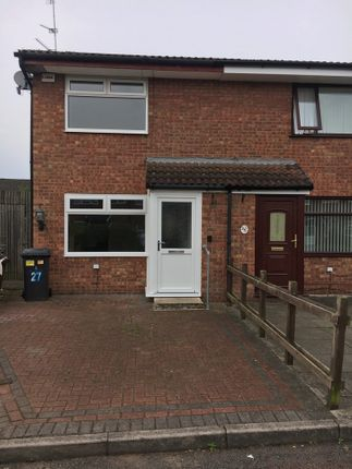 Thumbnail Semi-detached house to rent in Hambleton Close, Widnes