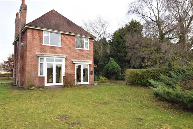 Thumbnail Detached house to rent in Sandy Lane, Pell Wall, Market Drayton