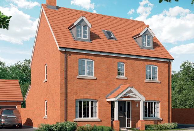 5 bed detached house for sale in Eastcotts Green, Shortstown, Bedford MK42