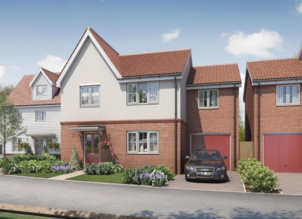 Thumbnail Detached house for sale in The Walmsley At Oaklands Hamlet, Five Oaks Lane, Chigwell, Essex