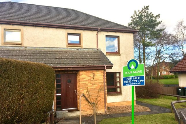 Thumbnail Semi-detached house for sale in St. Serf's Place, Crook Of Devon, Kinross