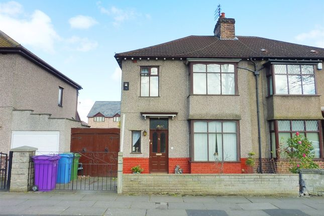 3 bed semi-detached house for sale in Brodie Avenue, Liverpool