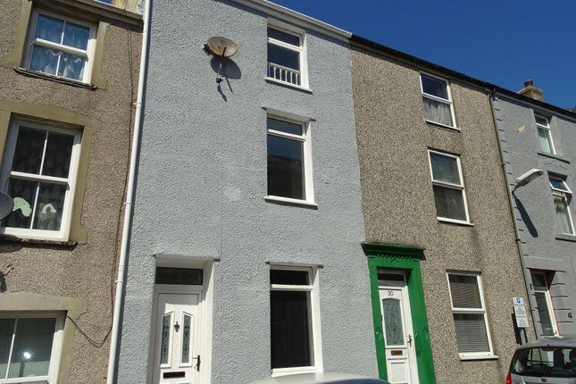 Thumbnail Terraced house for sale in New Street, Caernarfon, Gwynedd