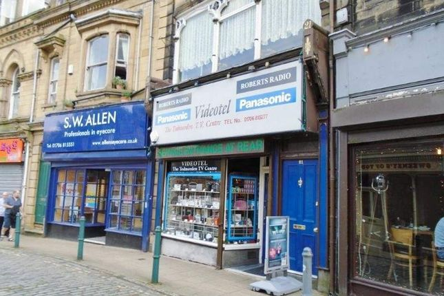 Thumbnail Retail premises for sale in 21 Water Street, Todmorden