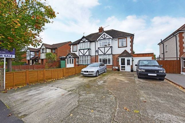 Thumbnail Semi-detached house for sale in Hook Road, Chessington