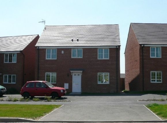 Thumbnail Detached house for sale in Lyveden Way, Corby