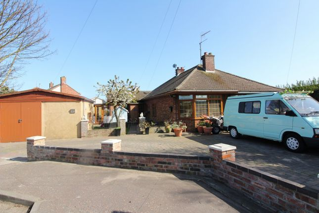 Thumbnail Bungalow for sale in Beccles Road, Bradwell