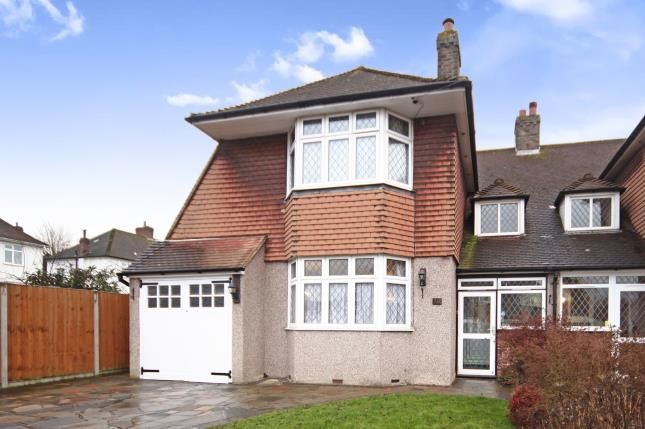Thumbnail Semi-detached house for sale in Tideswell Road, Shirley, Croydon, Surrey
