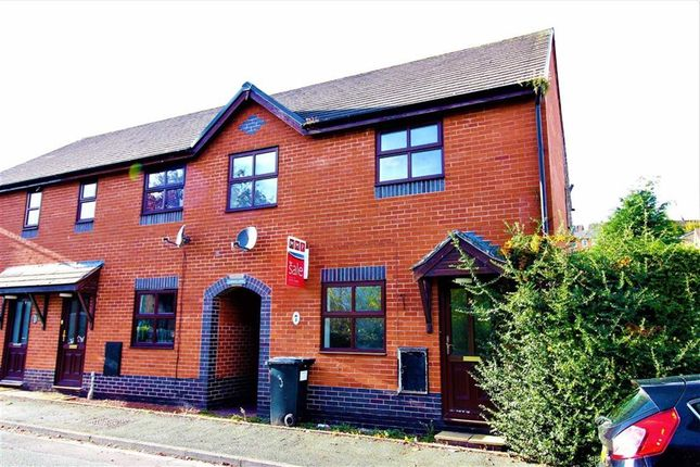 Thumbnail End terrace house for sale in 3, Gungrog Court, Welshpool, Powys