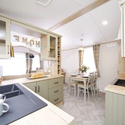 Kitchen of Ty Gwyn Park, Abergele, Towyn, Abergele LL22