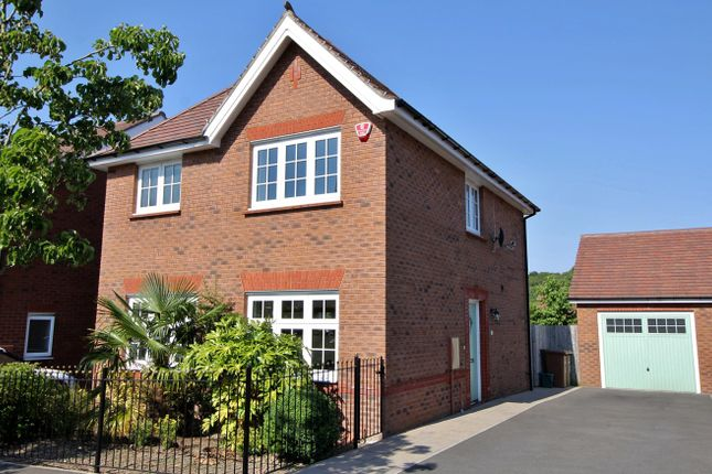 Thumbnail Detached house for sale in Peregrine Close, Penallta, Hengoed