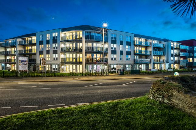 Thumbnail Flat for sale in Narrowcliff, Newquay, Cornwall
