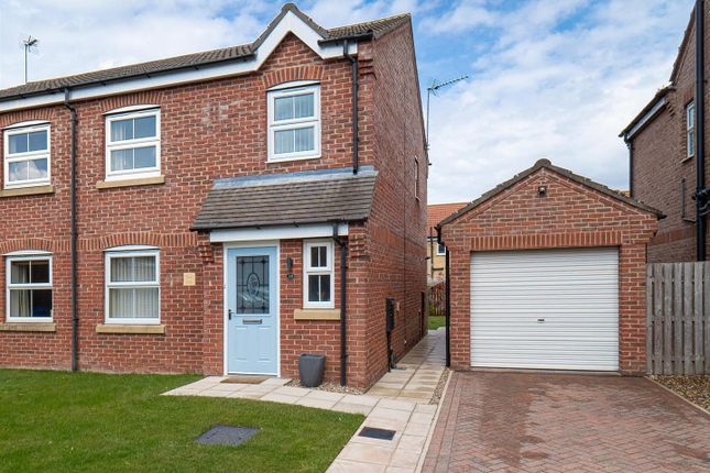 3 bed semi-detached house for sale in Cygnet Close, Hornsea HU18