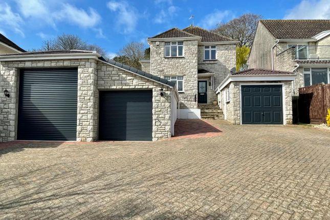 Thumbnail Detached house for sale in Belfield Park Avenue, Weymouth