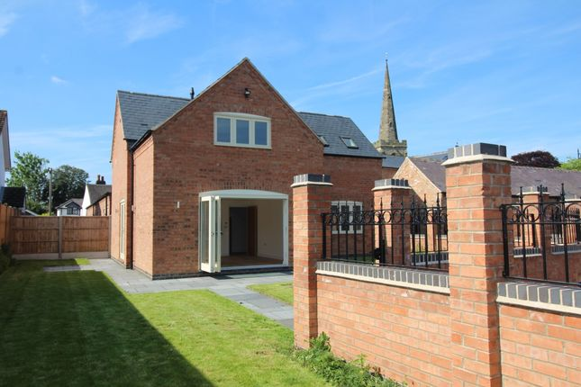 Thumbnail Detached house for sale in Church Street, Burbage, Hinckley, Leicestershire