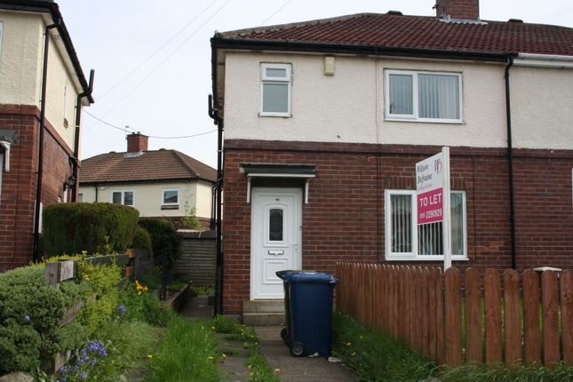 Thumbnail Semi-detached house to rent in Westway, Newcastle Upon Tyne