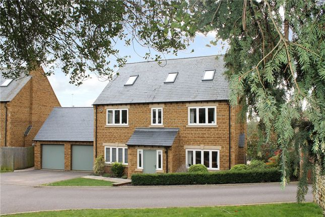 Thumbnail Detached house for sale in Convent Gardens, High Street, Great Billing, Northampton