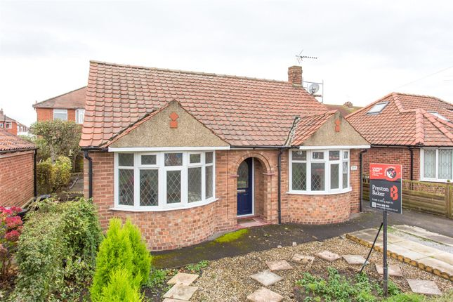 Detached bungalow for sale in Bedale Avenue, York