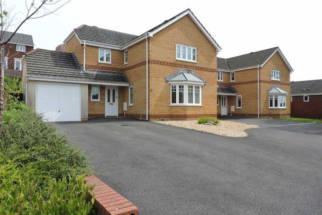 Thumbnail Detached house for sale in Parc Gilbertson, Gelligron, Pontardawe, Swansea