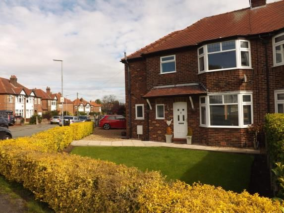Thumbnail Semi-detached house for sale in Glebe Avenue, Grappenhall, Warrington