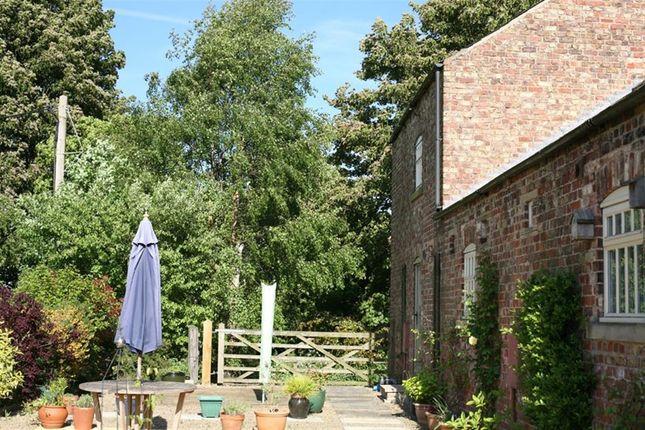 Garden of Castle Cottages, Sheriff Hutton, York YO60