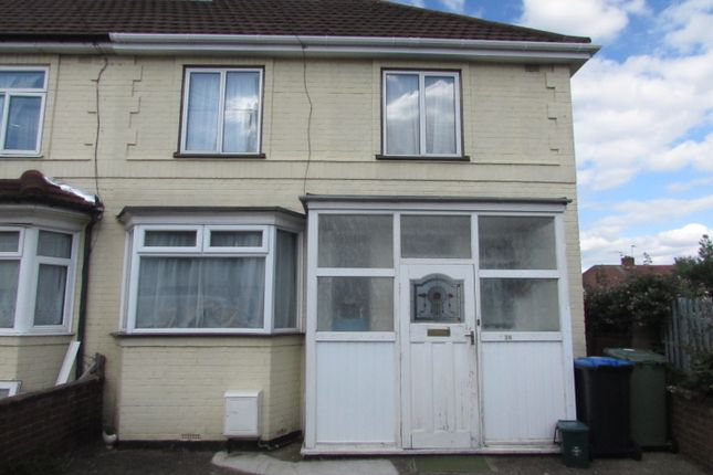 Thumbnail End terrace house for sale in Fulwood Avenue, Wembley