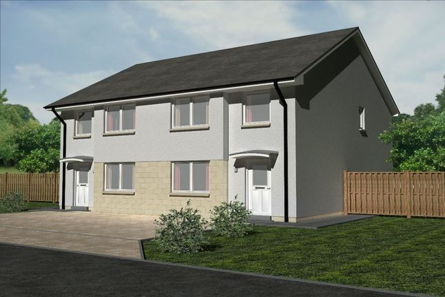 Thumbnail Semi-detached house for sale in Nechtan Drive, Coalsnaughton, Tillicoultry