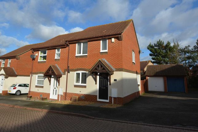 Thumbnail Semi-detached house to rent in Grosmont Close, Emerson Valley, Milton Keynes