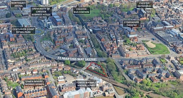 Thumbnail Land for sale in Northgate Locks, Canal Street, Chester, Cheshire