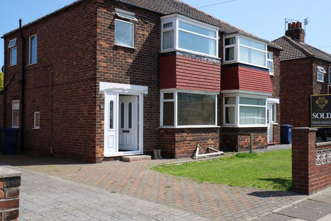 Thumbnail Semi-detached house for sale in Sandsend Road, Redcar