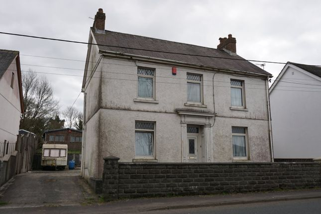 Thumbnail Detached house for sale in Station Road, Pontyberem, Llanelli
