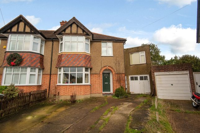 Thumbnail Semi-detached house for sale in Maple Close, Eastcote, Middlesex