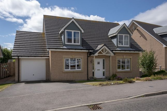Thumbnail Detached house for sale in Harvey Way, Rothienorman, Inverurie