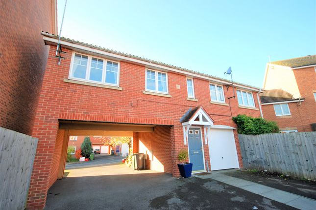 Thumbnail Flat to rent in Narrow Hall Meadow, Warwick, Warwickshire